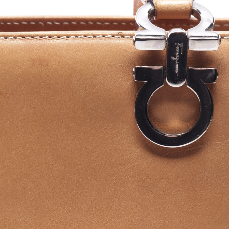 handbag from Salvatore Ferragamo in camel