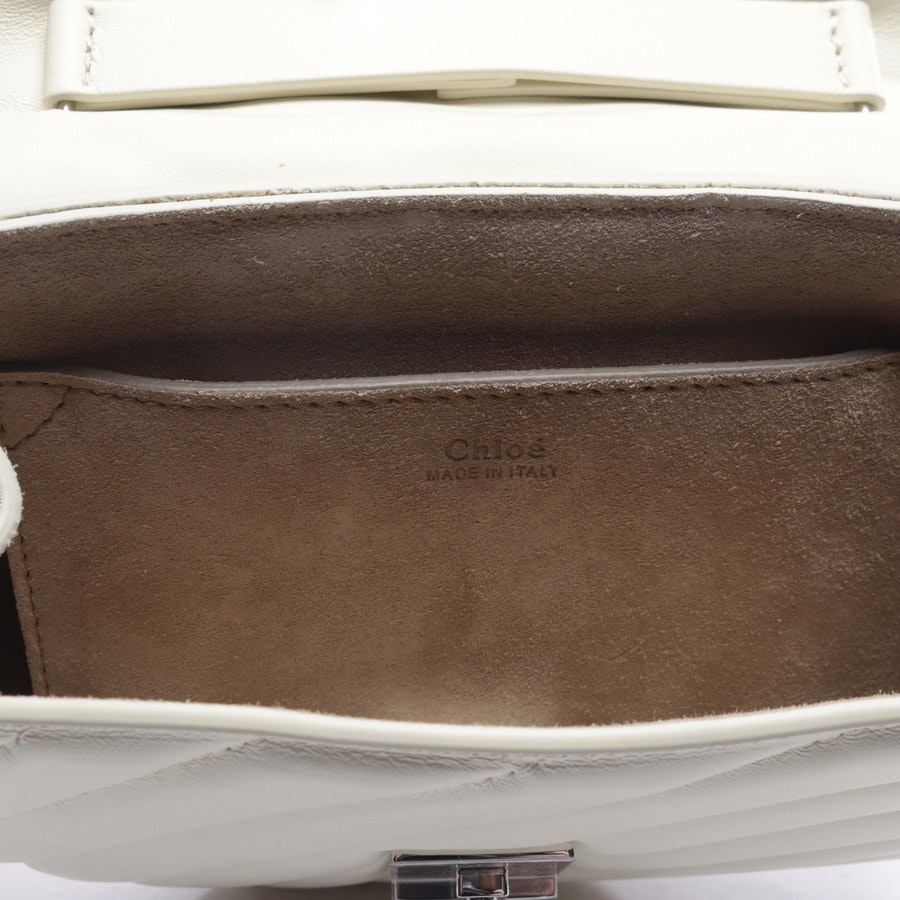evening bags from Chloé in beige - bijou - new