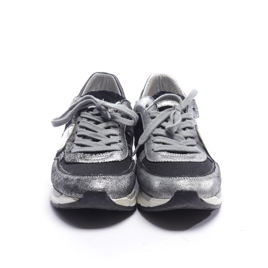trainers from Philippe Model in black and silver size EUR 40