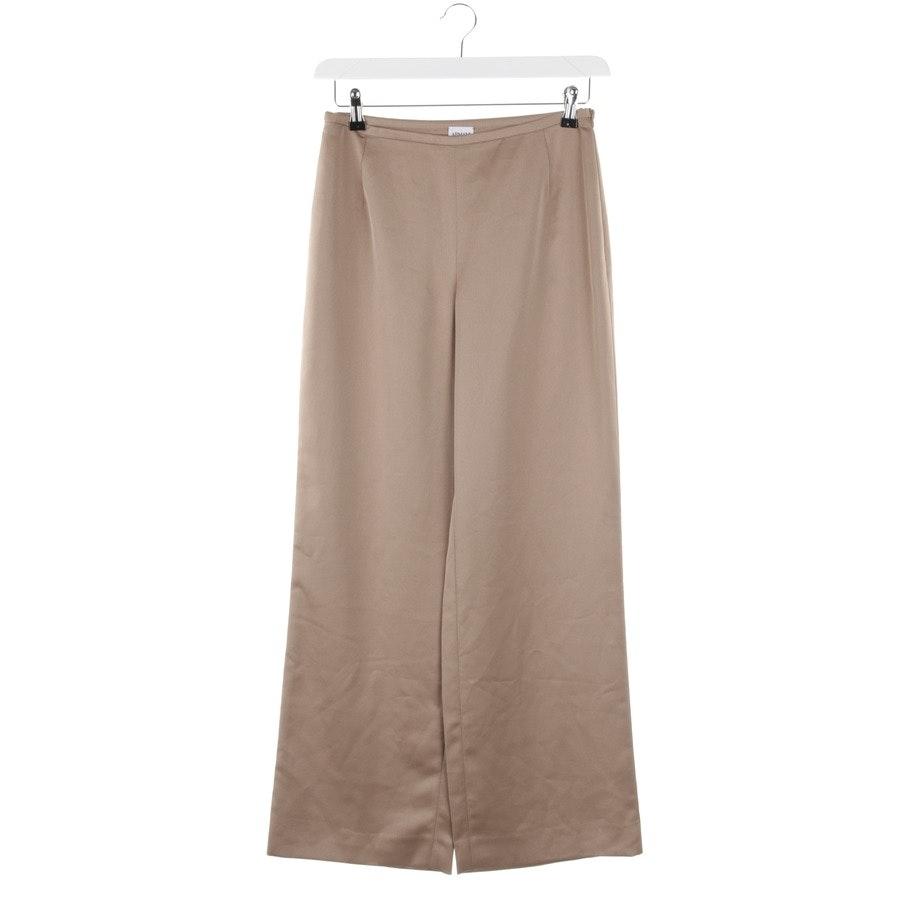 trousers from Armani Collezioni in nude size 38