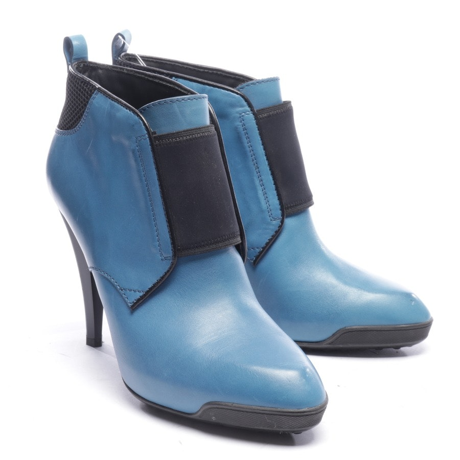 ankle boots from Tod´s in petrol and black size EUR 39