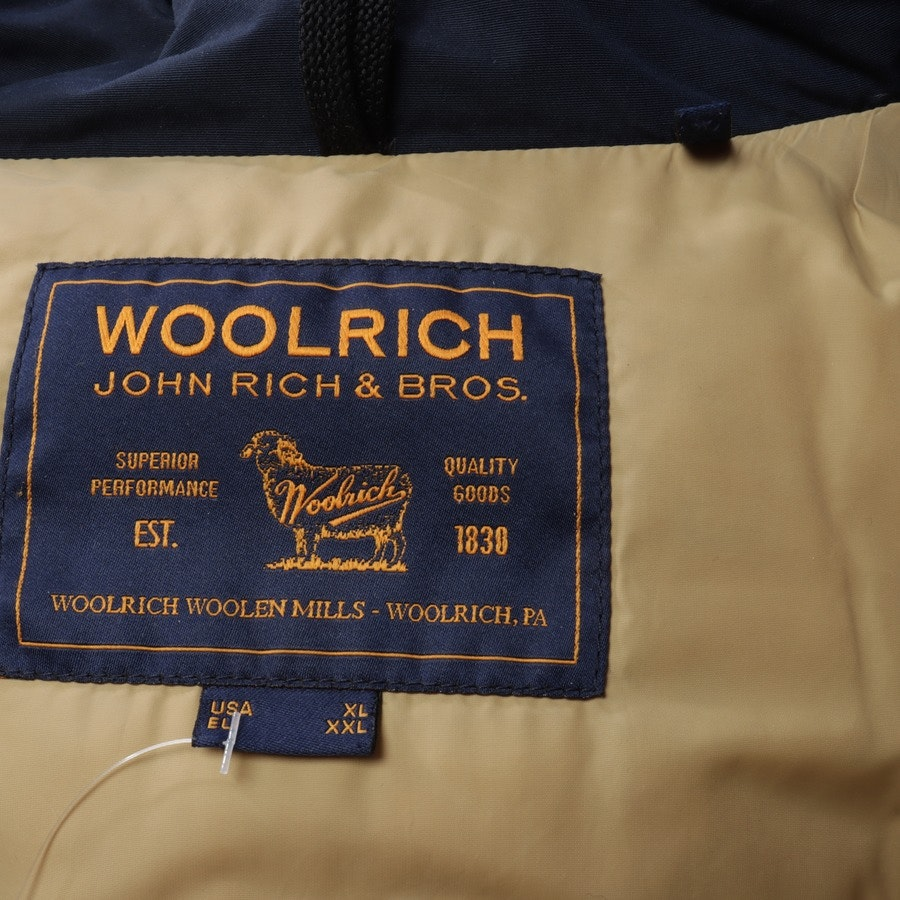winter coat from Woolrich in navy size 2XL - arctic parka