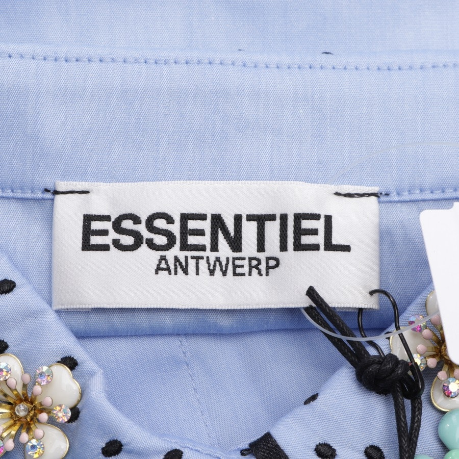 collar from Essentiel Antwerp in blue - new