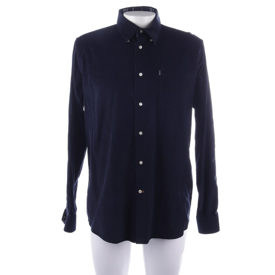 casual shirt from Barbour in dark blue size L