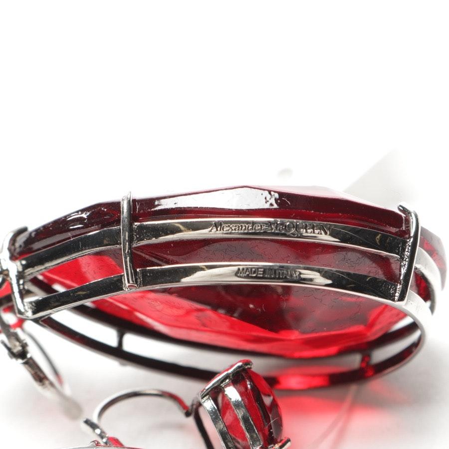 jewellery from Alexander McQueen in red