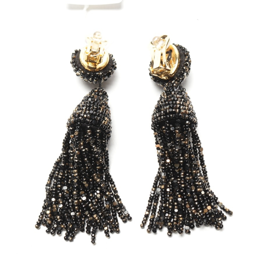 jewellery from Oscar de la Renta in black and gold