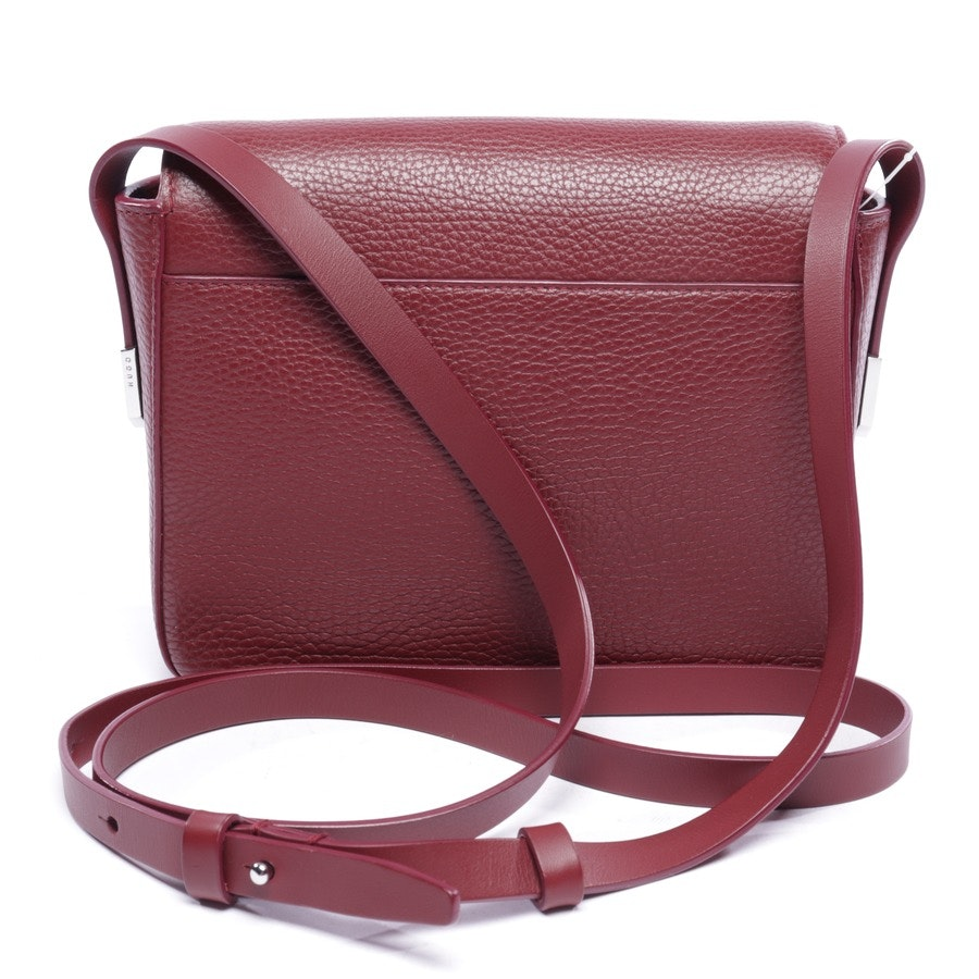 shoulder bag from Hugo Boss Black Label in bordeaux