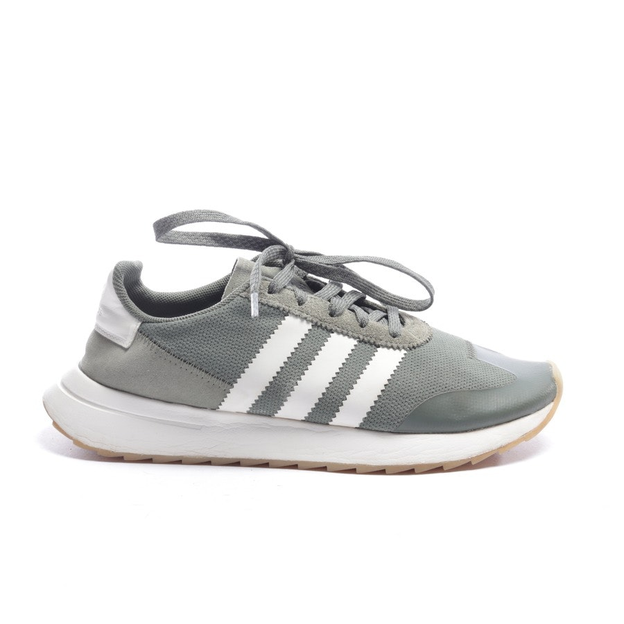 trainers from Adidas in olive green and white size EUR 39,5
