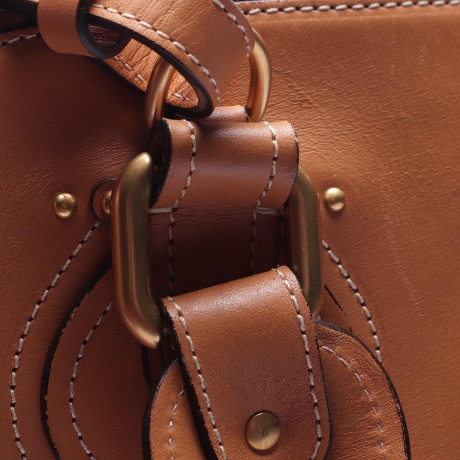 shoulder bag from Chloé in camel