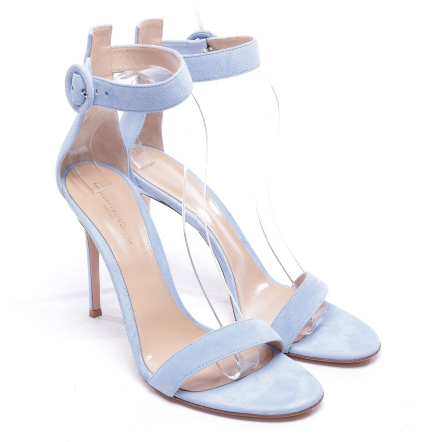 heeled sandals from Gianvito Rossi in blue size EUR 41,5 - new
