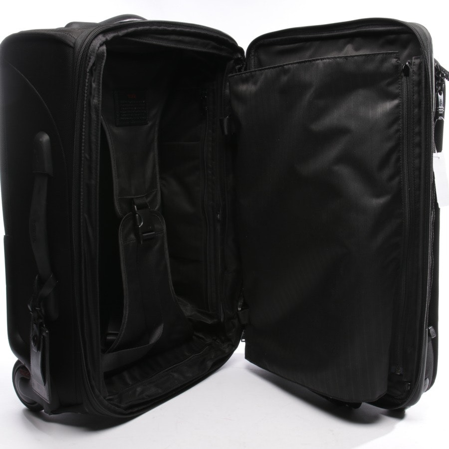 trolley from Tumi in black - alpha super spinner