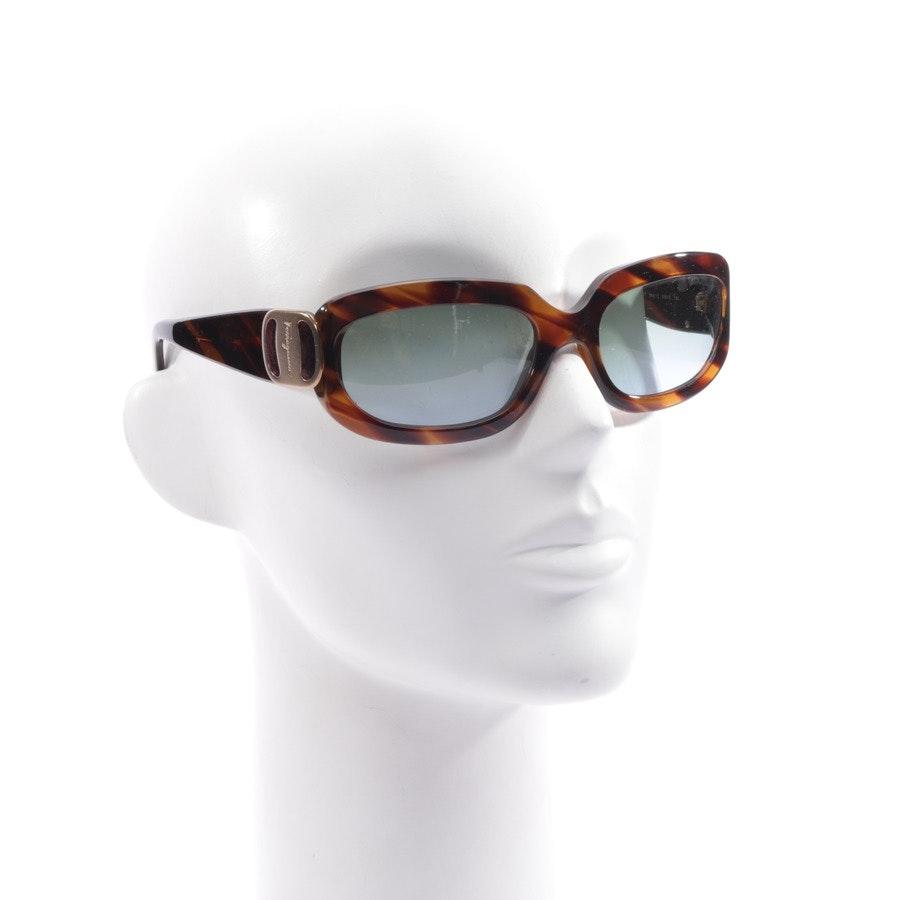 sunglasses from Salvatore Ferragamo in brown - 364/17