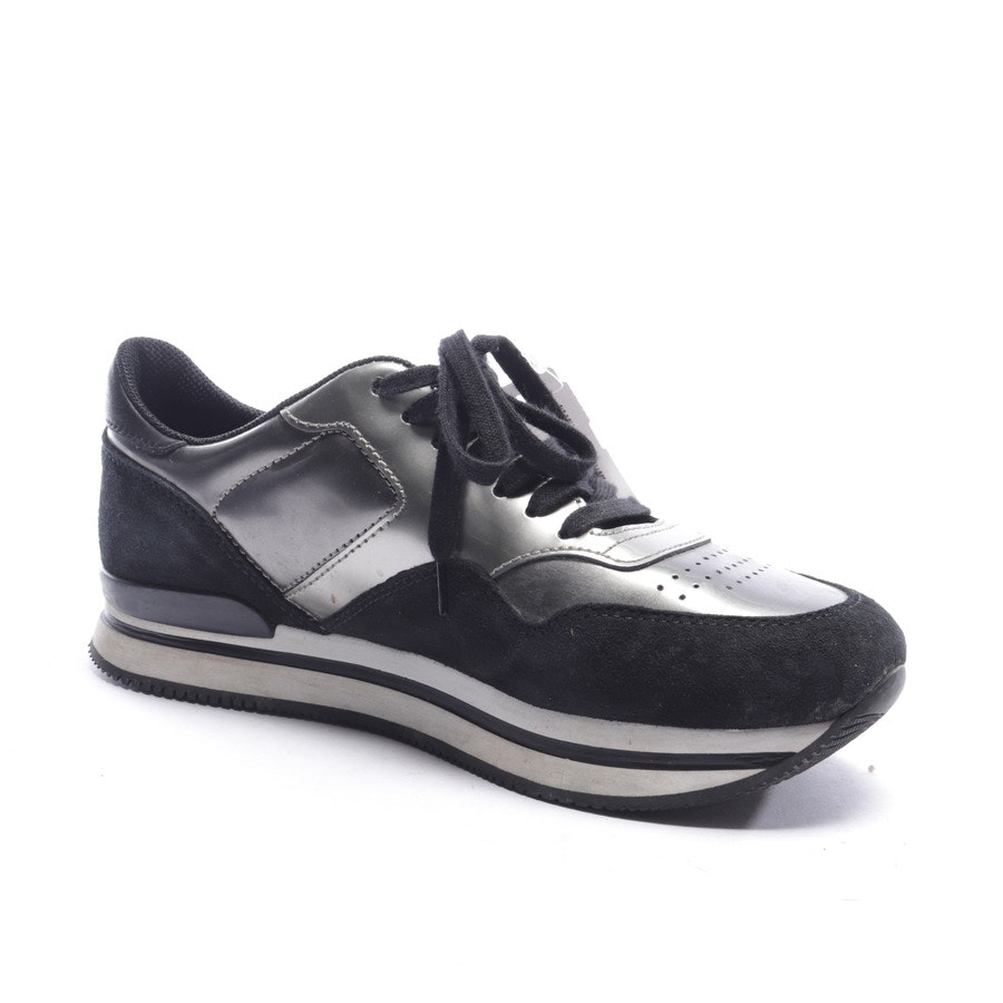 trainers from Hogan in black and silver size EUR 40,5