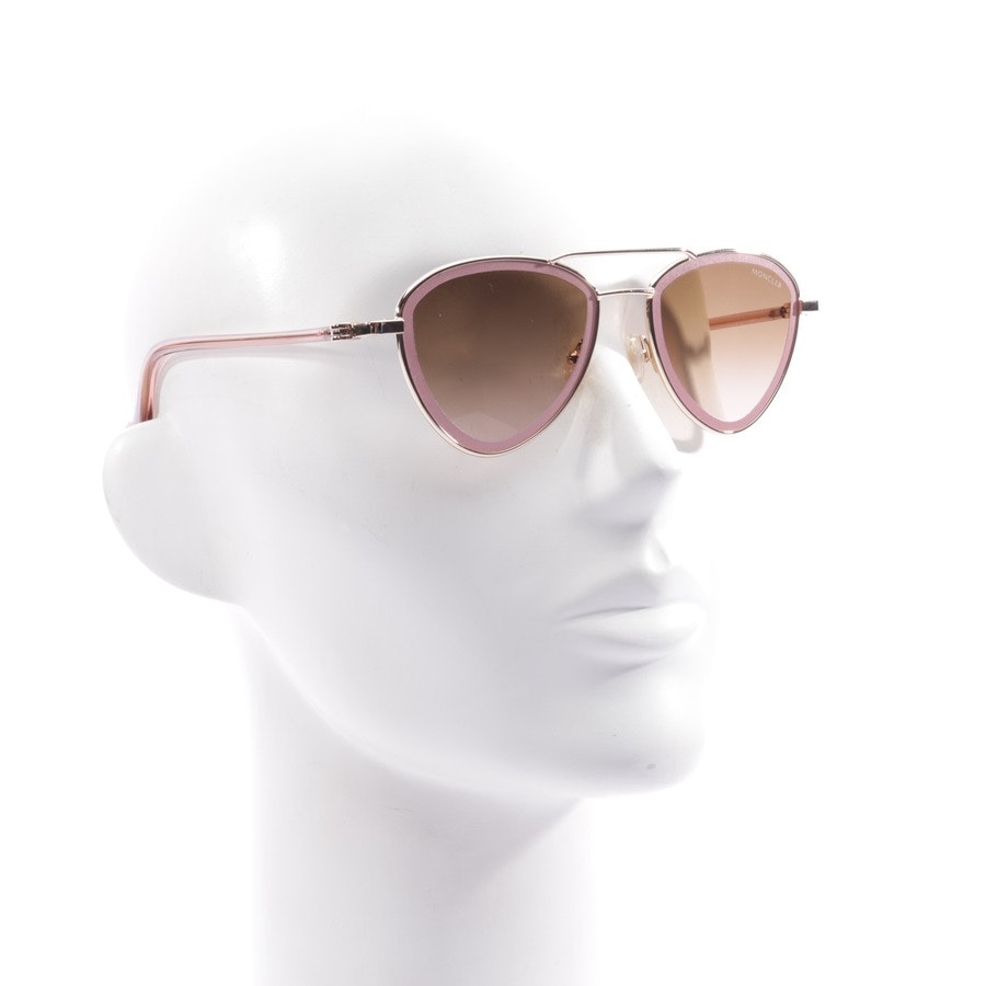 sunglasses from Moncler in bronze and pink