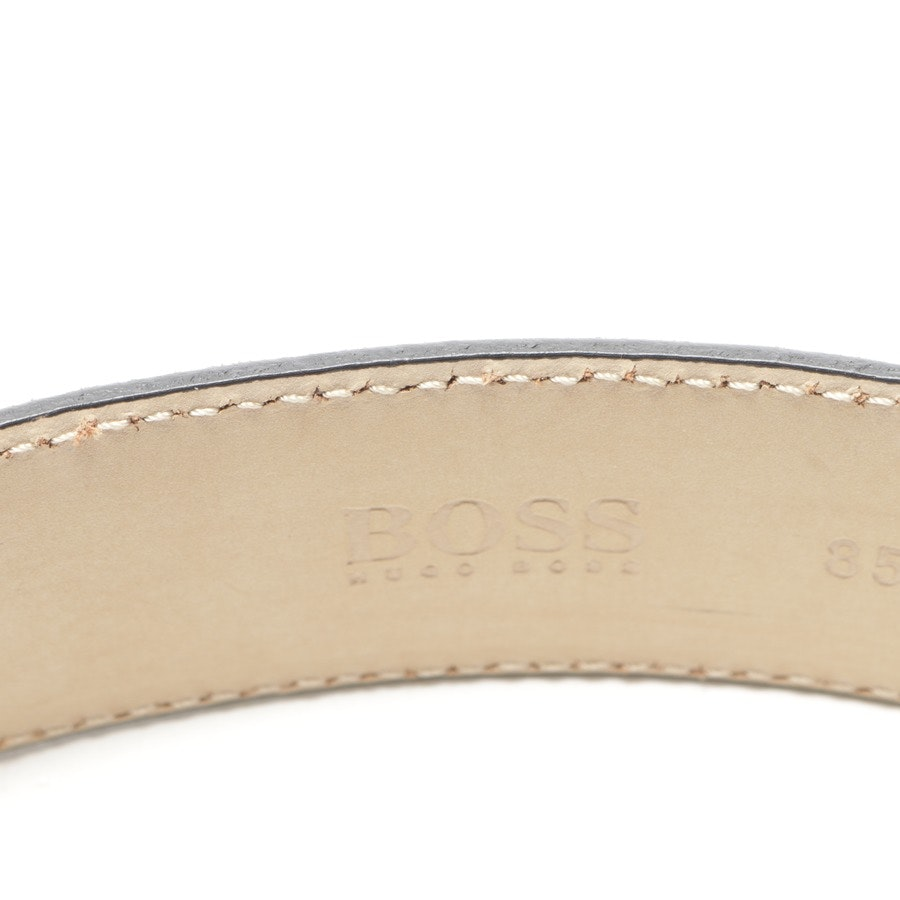 belt from Hugo Boss Black Label in grey size 85 cm