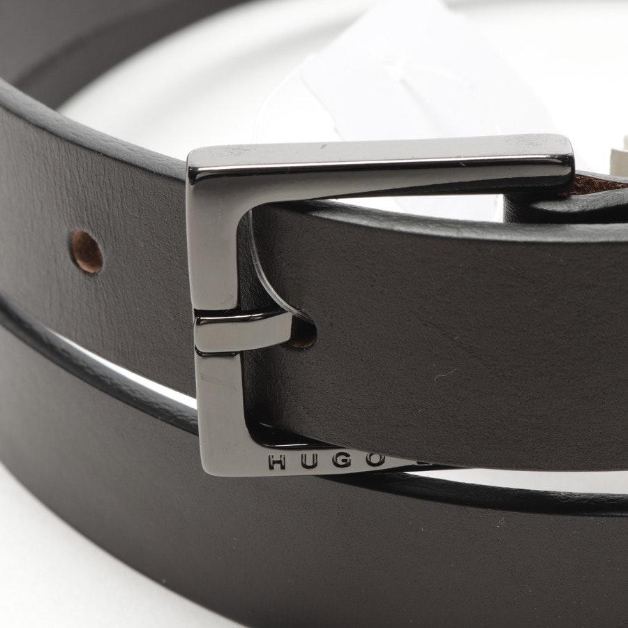 belt from Hugo Boss Black Label in black-brown size 100 cm