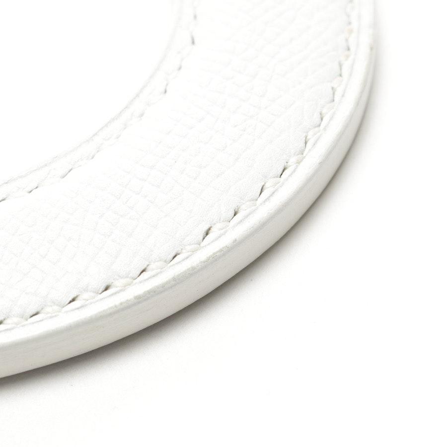 Armreif von Hermès in Weiß