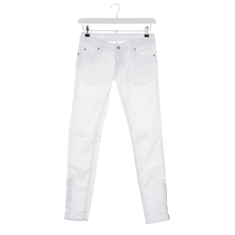 Jeans von Dsquared in Weiß Gr. 34 IT 40