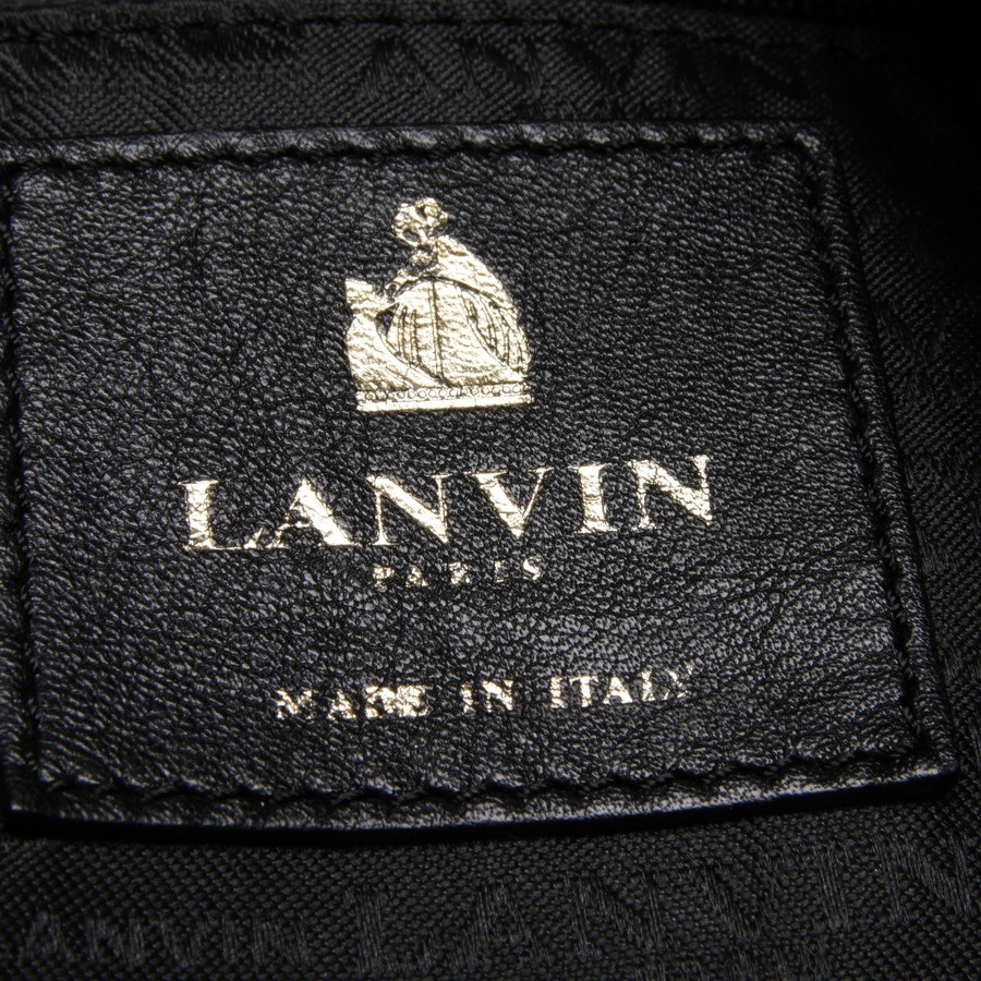 shoulder bag from Lanvin in chocolate brown - amalia