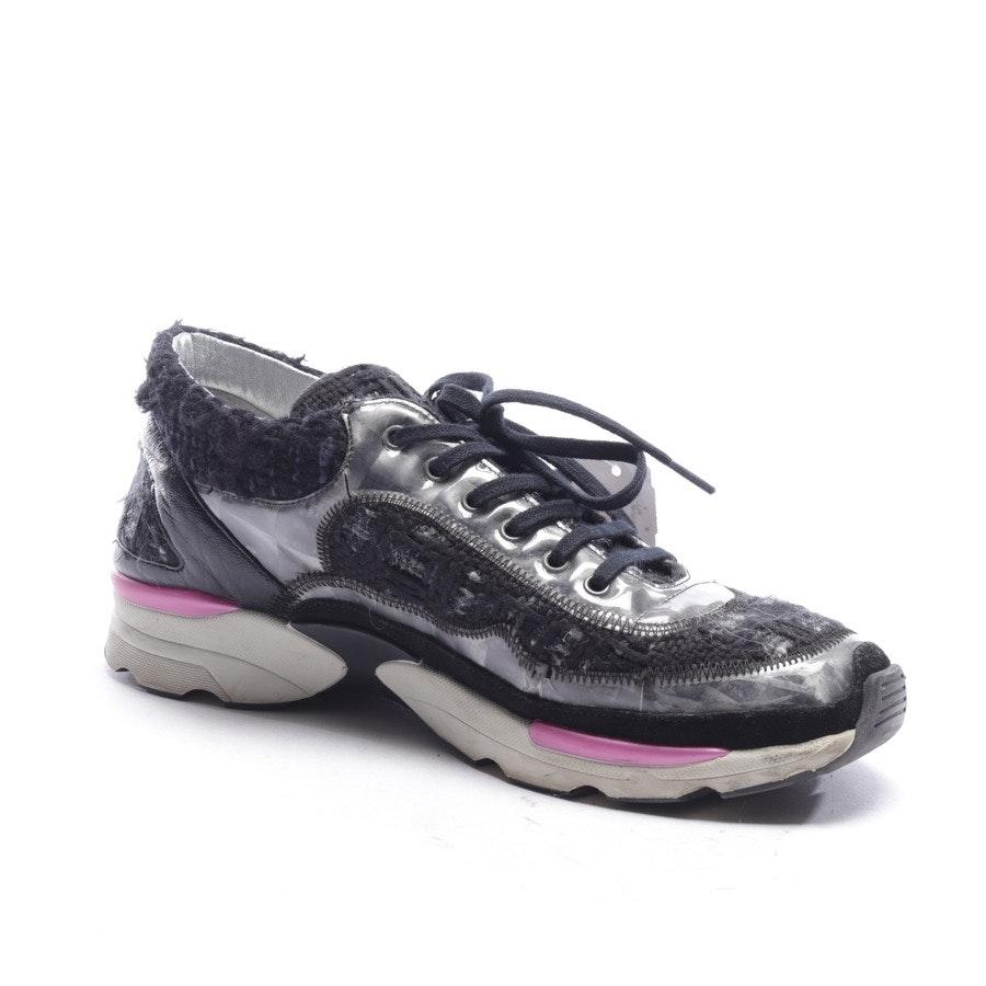 Sneaker von Chanel in Schwarz und Weiß Gr. EUR 38,5