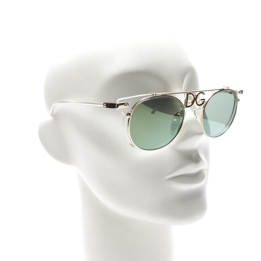 Sonnenbrille von Dolce & Gabbana in Gold