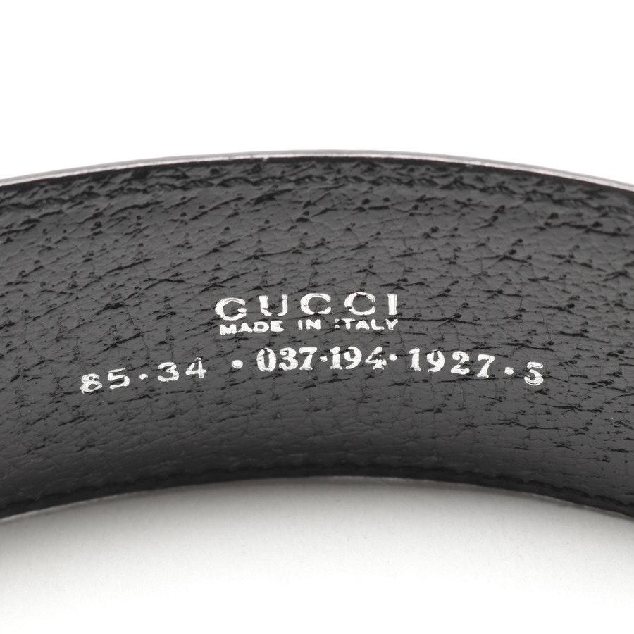 Gürtel von Gucci in Schwarz Gr. 85 cm