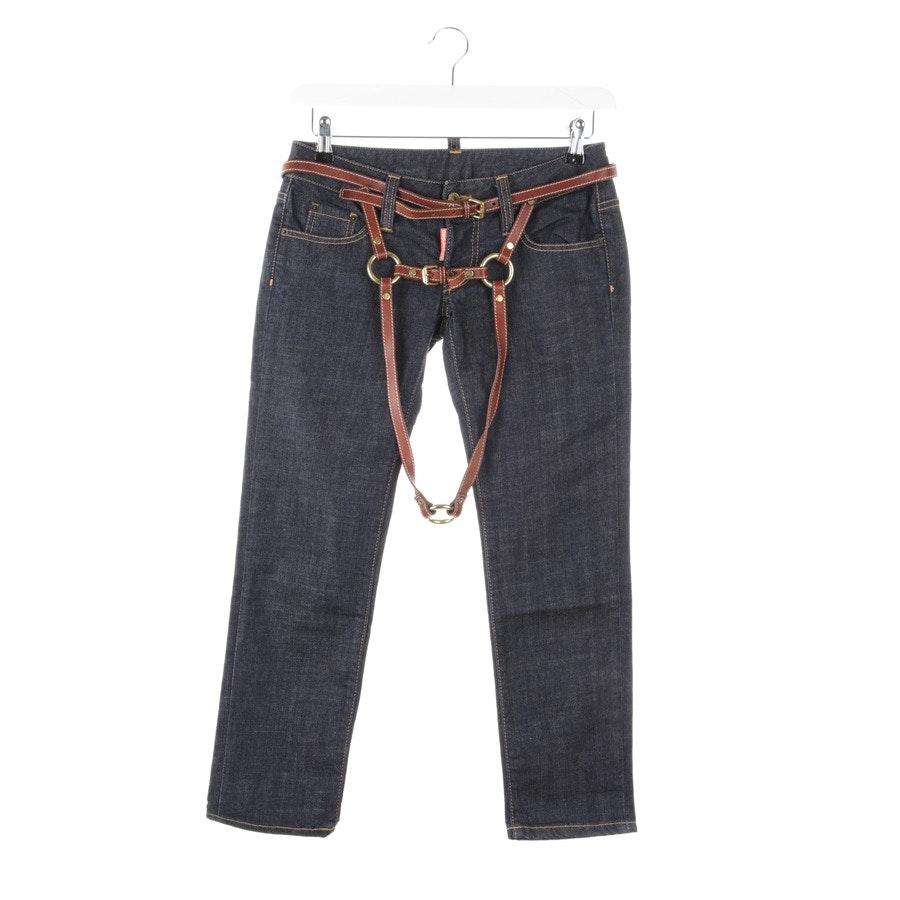 Jeans von Dsquared in Dunkelblau Gr. 36 IT 42