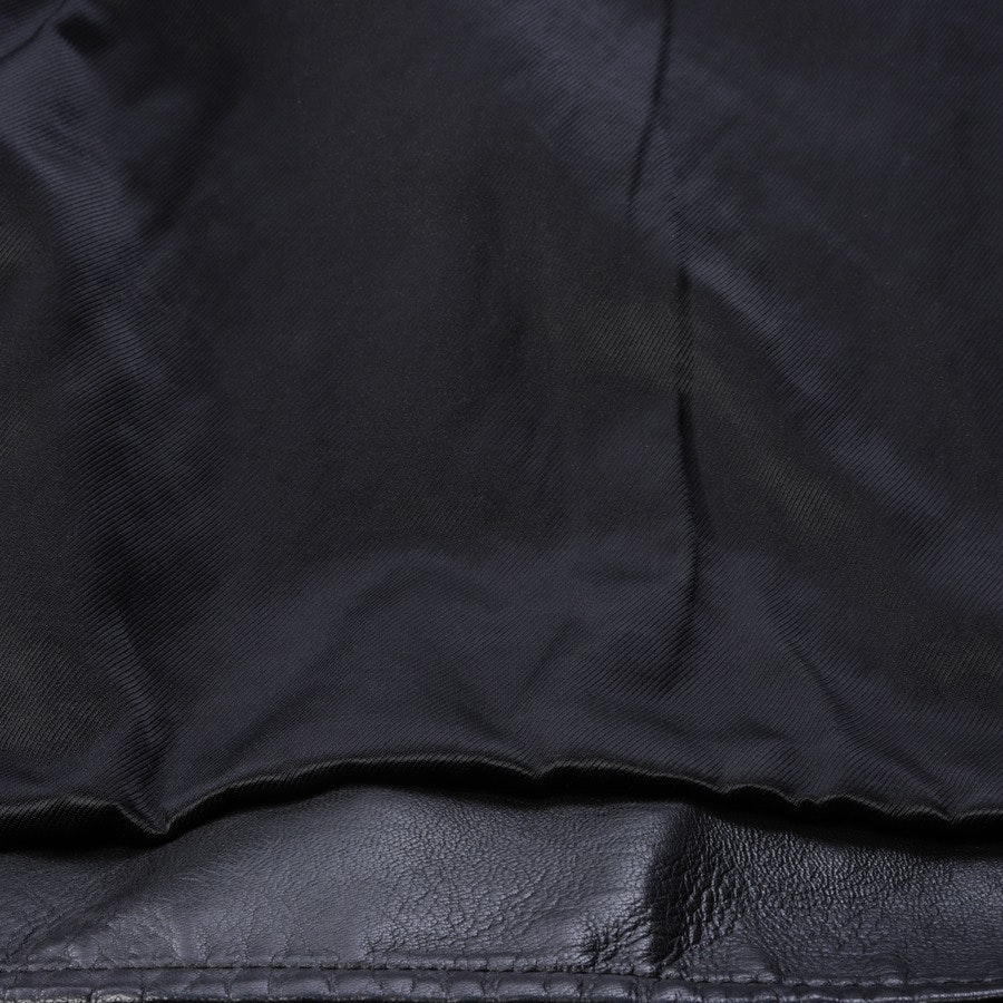 leather jacket from Saint Laurent in black size 48