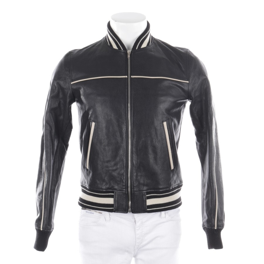 leather jacket from Saint Laurent in black size 46