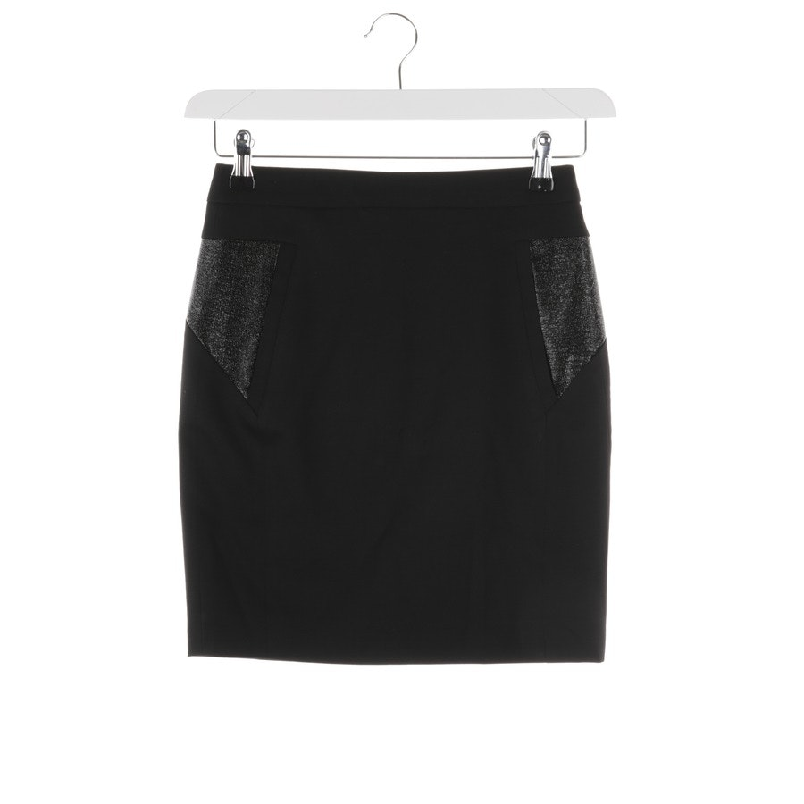 skirt from The Kooples in black size 32 FR 34
