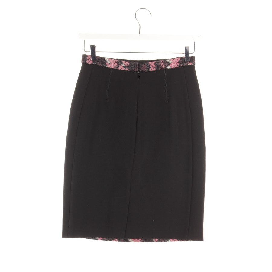 skirt from Balenciaga in black and pink size DE 38 FR 40