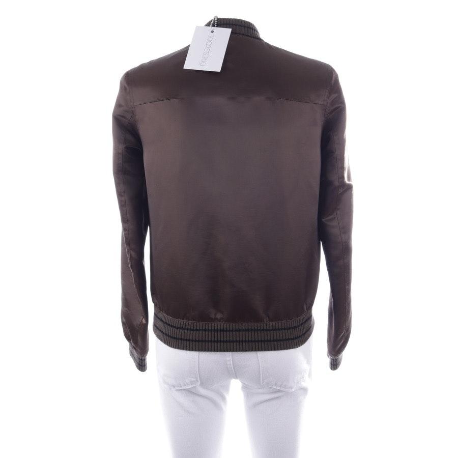 Übergangsjacke von Dior in Khaki und Schwarz Gr. 44 FR 46