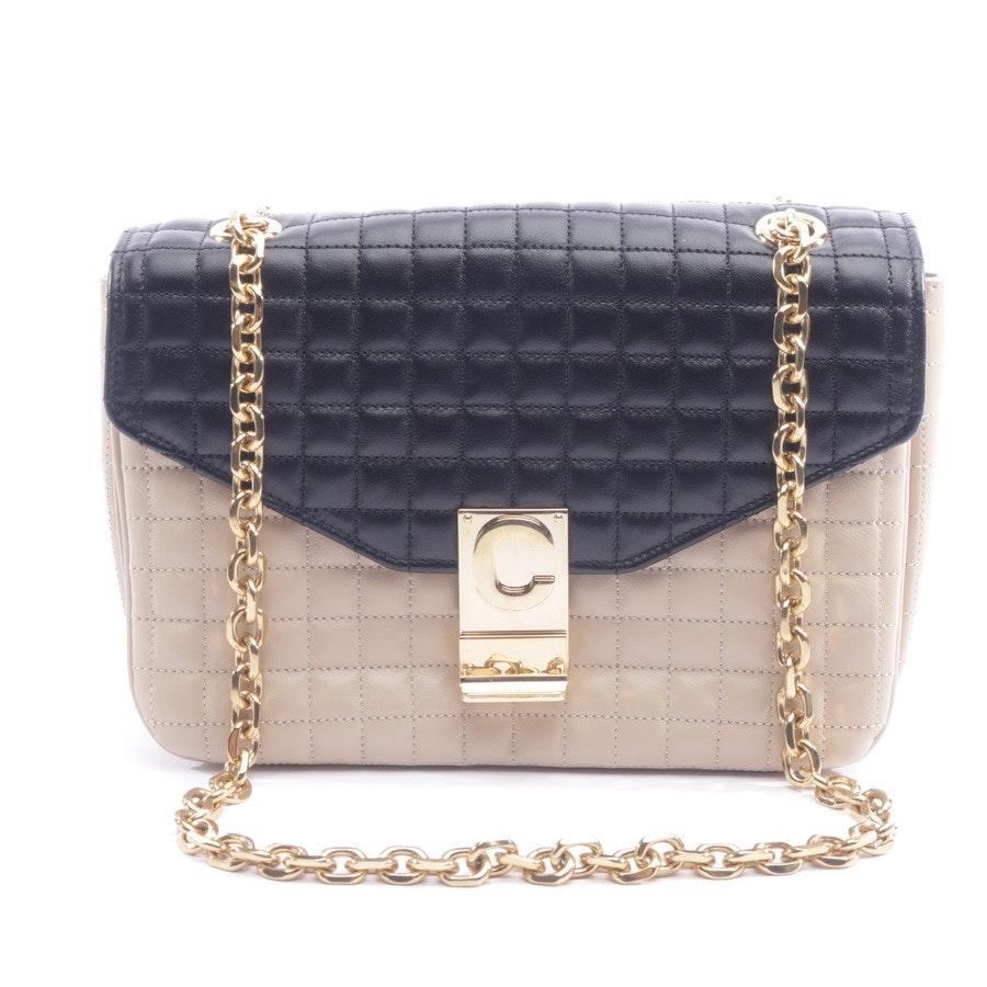 shoulder bag from Céline in black and beige - c bag medium - new