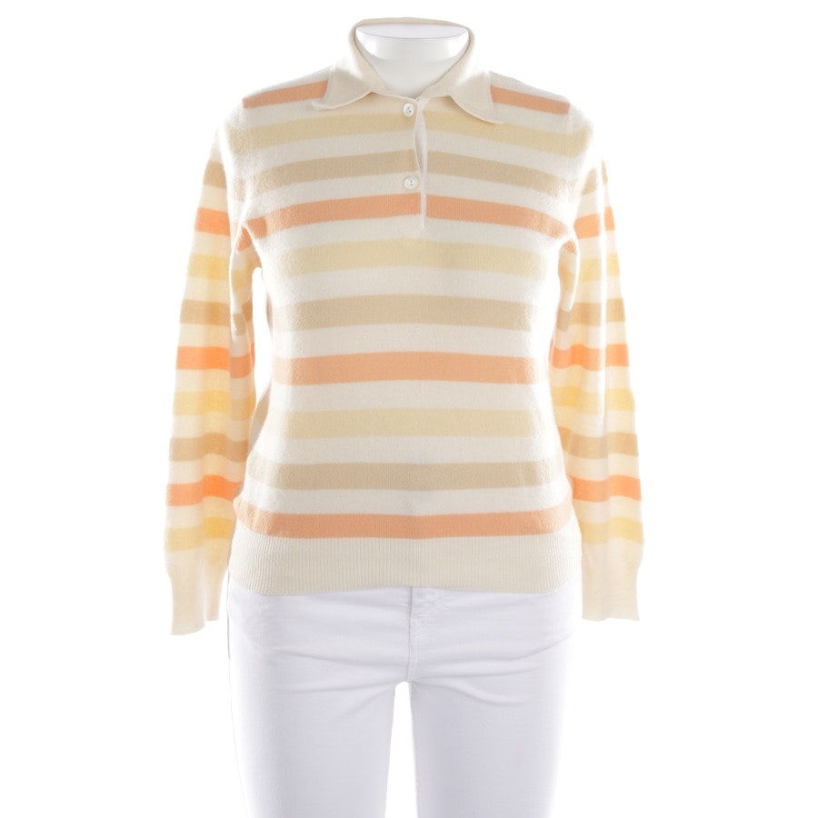 knitwear from Brunello Cucinelli in wool white and multicolor size L
