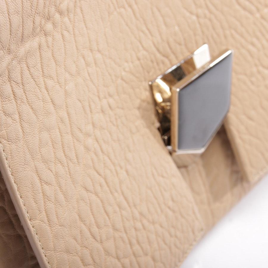 shoulder bag from Jimmy Choo in beige and black