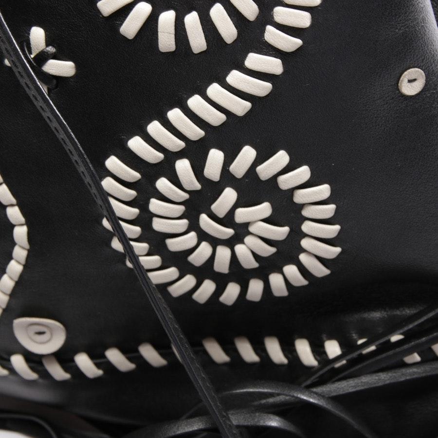 Umhängetasche von Prada in Schwarz und Weiß