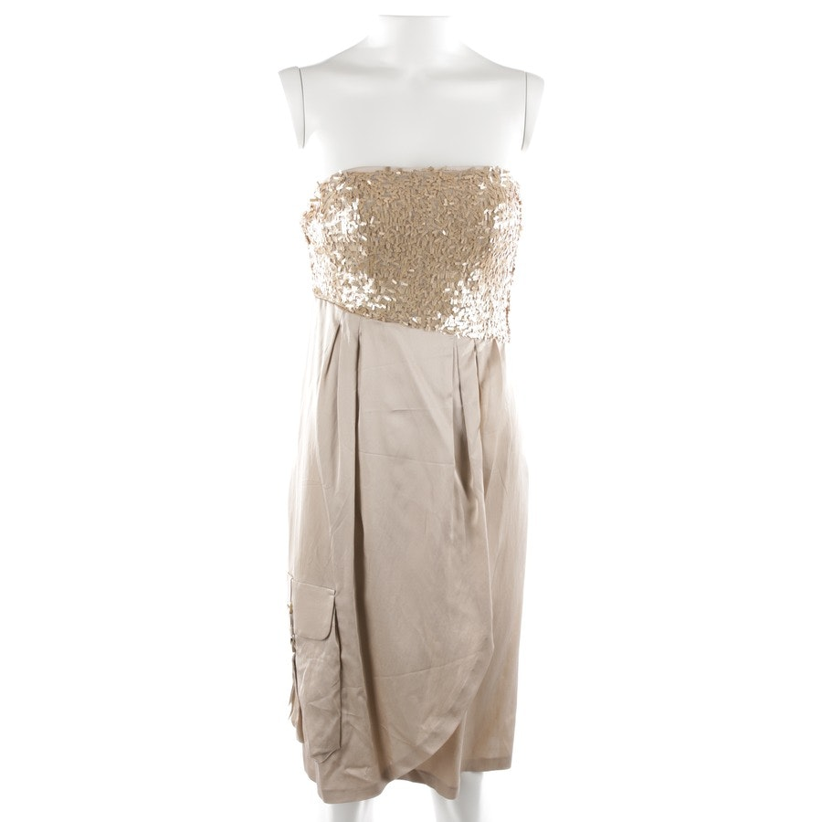 dress from Schumacher in champagne size S - new