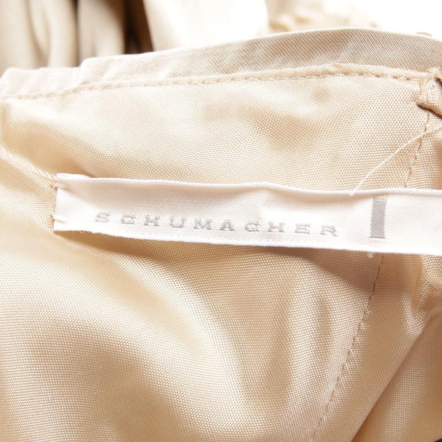 Bandeaukleid von Schumacher in Champagner Gr. S - Neu