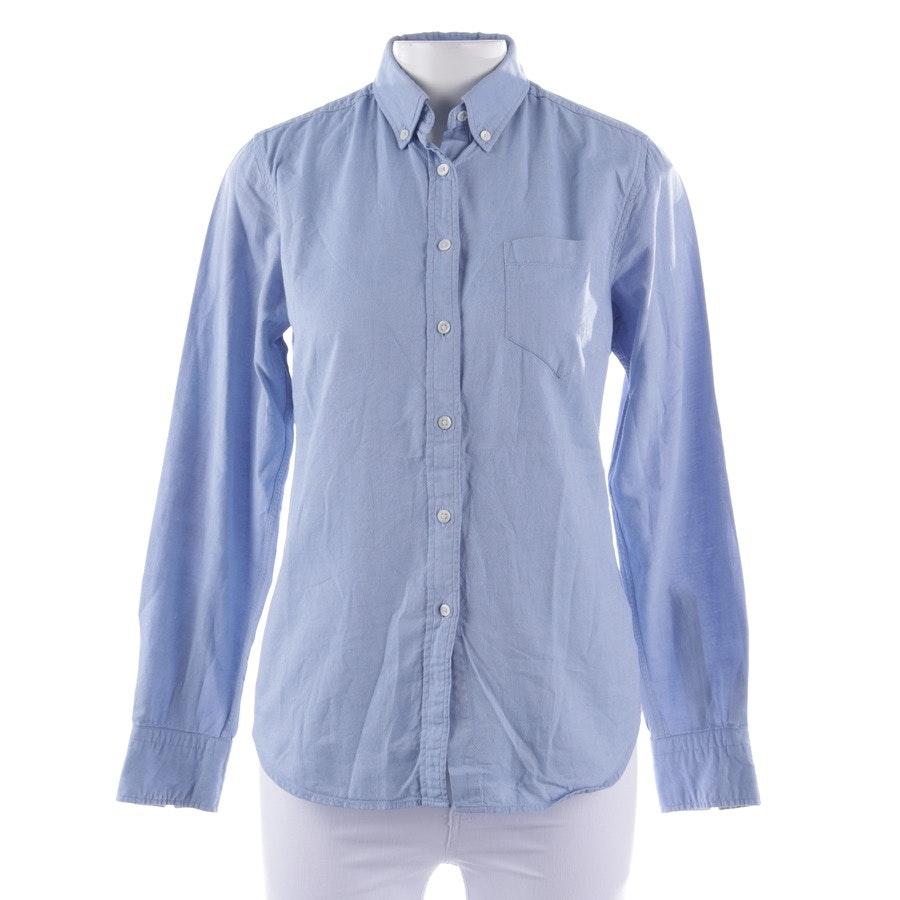 Bluse von Gant in Hellblau Gr. 36