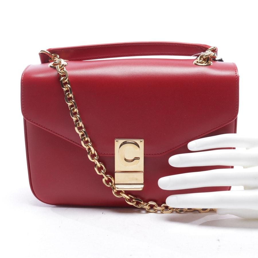 shoulder bag from Céline in red - medium c - new