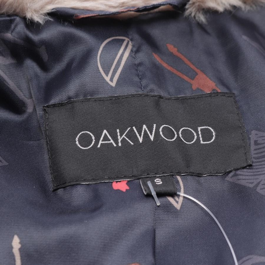 Wintermantel von Oakwood in Graubraun Gr. S