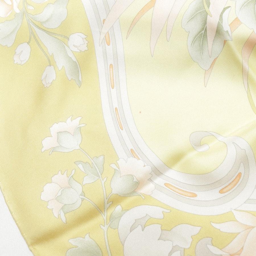 Schal von Salvatore Ferragamo in Pastellgrün und Mehrfarbig