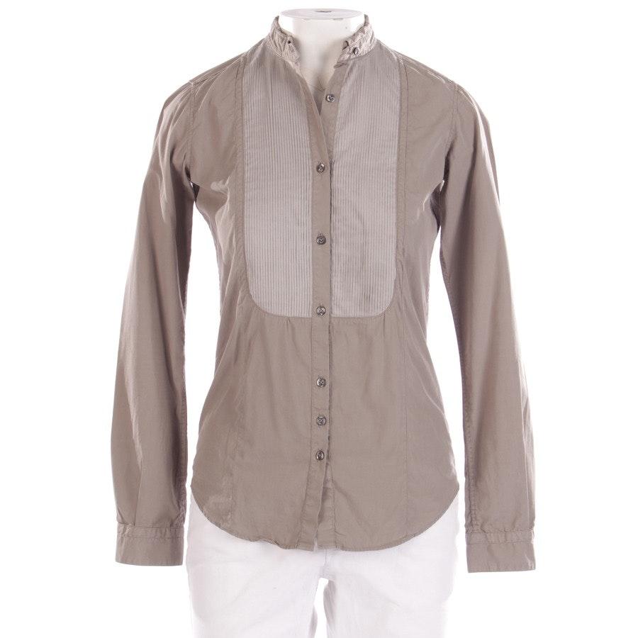 Bluse von Aglini in Khaki Gr. S