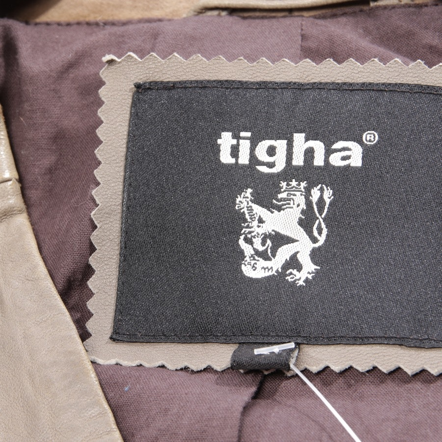 leather jacket from Tigha in grey size L