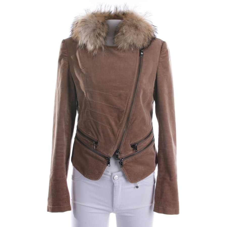 Samtjacke von Blonde No. 8 in Sand Gr. 36