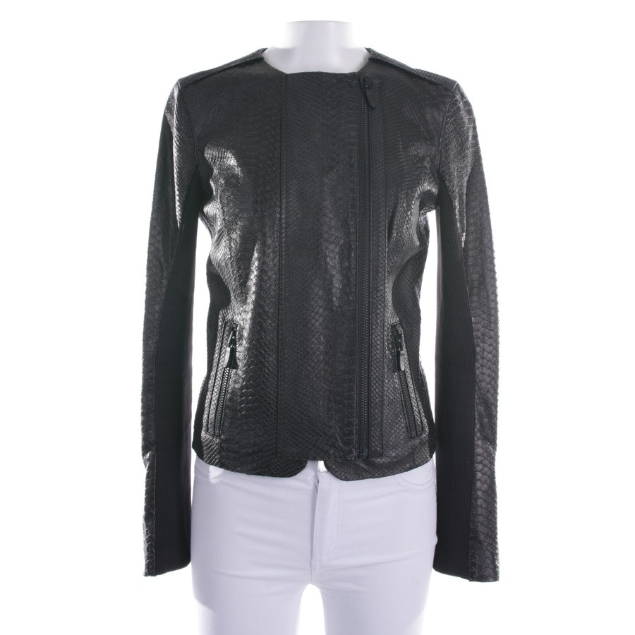 leather jacket from J Brand in black size S