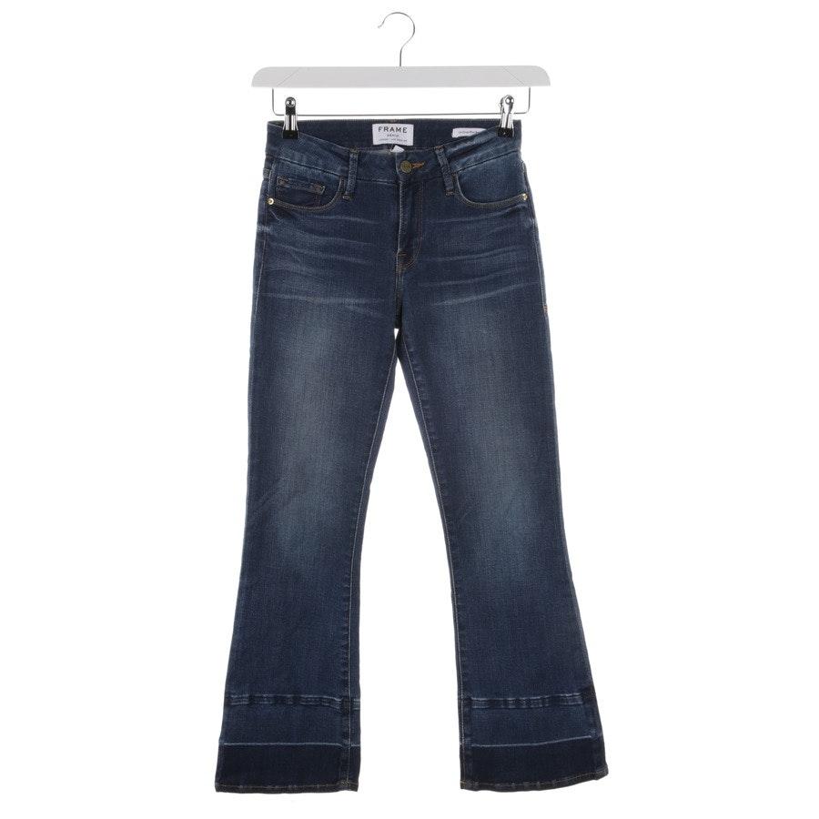 Jeans von Frame in Blau Gr. W24 - Le Crop Mini Boot