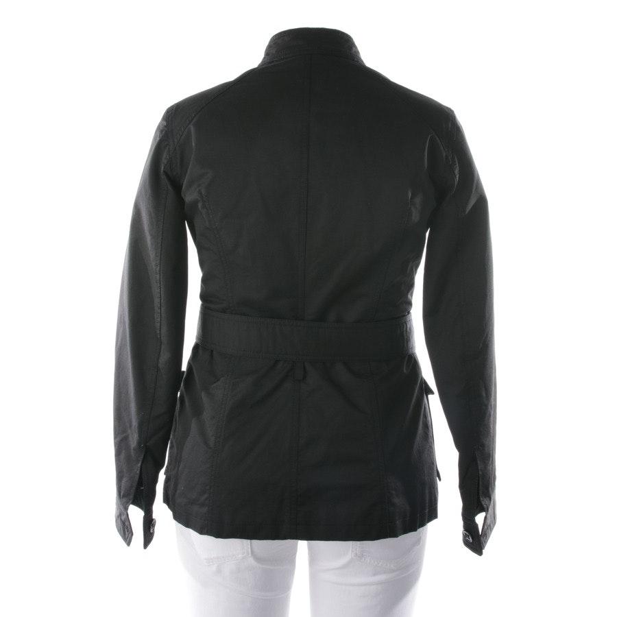 Übergangsjacke von Moschino Jeans in Schwarz Gr. 40