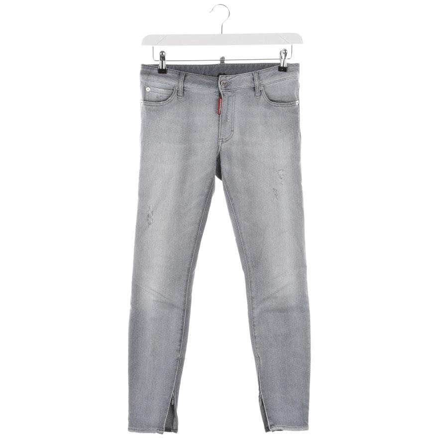 Jeans von Dsquared in Grau Gr. 34 IT 40
