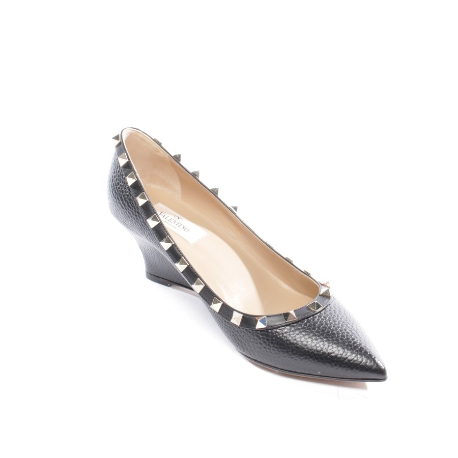 pumps from Valentino in black size EUR 38,5 - rockstud new